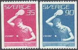ZWEDEN 1967 WK Tafeltennis PF-MNH - Nuevos