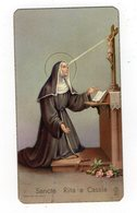 SANTINO Image Pieuse Image Religieuse Holy Card SANTA RITA DA CASCIA  Serie  F. G. ANCORA 201   PERFETTO - Religion & Esotericism