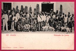 Loanda - Embaixada Dos Dembos - Chèvre - Ambassade - Animée - Edit. OSORIO & SEABRA - Angola