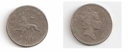 10 Pence – Grande Bretagne – 1992 – Elizabeth II – Cupro Nickel – Etat TTB – KM 938b - 1971-… : Monnaies Décimales