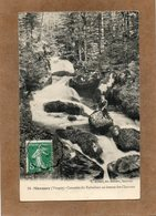 CPA - MOUSSEY (88) - Aspect Des Pêcheurs De Truite à La Cascade Du Rabodeau En 1910 - Moussey