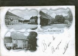 GRUSS AUS NIEDERWEILLER 1898                                 JLM - Autres Communes