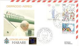 13549 - Visite JEAN PAUL II HARARE - Zimbabwe (1980-...)