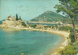 Mont Athos (Monte Athos, Grecia) Agios Basilios Monastery Hiliandari, St. Basilios Monastére Hiliandarion - Grecia