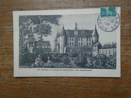 Vue Ancienne Du Château De Picquigny ( Côté Septentrional ) - Picquigny