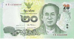 Thailand - Pick New - 20 Baht 2017 - Unc - Commemorative - Tailandia