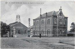 Saint-Ghislain NA25: Dortoir Des Agents Du Chemin De Fer 1914 ( SBP 19 ) - Saint-Ghislain