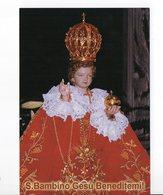 SANTINO Image Pieuse Religieuse Holy Card Gesù Bambino Di Praga  - PERFETTO - Religion & Esotericism