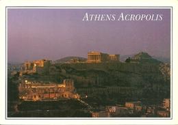 Athens (Atene, Grecia) The Akropolis Illuminated, L'Acropole Illuminée, L'Acropoli Illuminata - Grecia