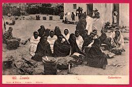 Loanda - Luanda - Quitandeiras - Osier - Vente Nourriture - Marché - Animée - Edit. OSORIO & SEABRA - Angola