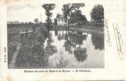 St-Ghislain NA23: Maison Du Vent De Bise Et La Haine - Saint-Ghislain