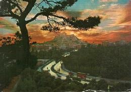 Athens (Atene, Grecia) Sunset At Akropolis, Coucher Du Soleil De L'Acropole, L'Acropoli Al Tramonto - Grecia