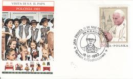 Polonia (1983) - Busta Ricordo Del Viaggio Del Papa Giovanni Paolo II - 1944-.... Repubblica
