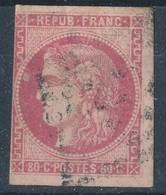 N°49 BORDEAUX NUANCE ET OBLITERATION - 1870 Emission De Bordeaux
