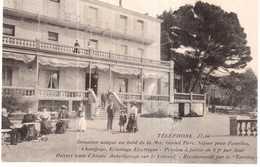 CPA B-du-R.L'ESTAQUE.GRAND HOTEL RESTAURANT CHATEAU FALLET - Autres Communes