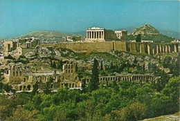 Athens (Atene, Grecia) The Akropolis, L'Acropole, L'Acropoli - Grecia