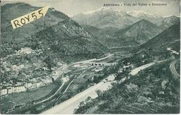 Lazio-rieti-antrodoco Veduta Valle Del Velino E Panorama Anni 30 ( F.picc./vedi Retro) - Altre Città