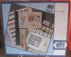 I.D. - Feuilles GARANT - 8 BANDES Fond Transparent - REF. 828 (5) - Albums & Reliures