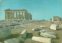 Athens (Atene, Grecia) Parthenon Et Erechtheion, Partenone Ed Erecteion - Grecia