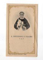 SANTINO Antico Image Pieuse Religieuse Holy Card Cristoforo Da Milano Serie Curia Generalizia Dei Domenicani - PERFETTO - Religion & Esotericism