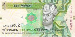 Turkmenistan - Pick 29b - 1 Manat 2014 - Unc - Turkménistan