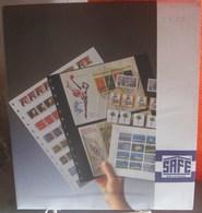 I.D. - Feuilles GARANT - 7 BANDES Fond Transparent - REF. 827 (5) - Albums & Reliures