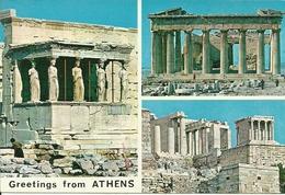 Athens (Atene, Grecia) I Templi, The Temples, Les Temples - Grecia