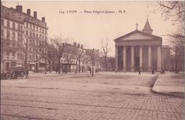 CPA - LYON -  124. Place Edgar Quinet - Lyon 1