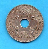 EAST AFRICA - 1 Pièce  - Ten Cents 1907 - Edouard VII - Colonie Britannique