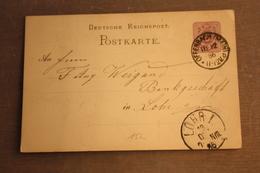 ( 2591 ) GS DR  P 12 / 02  Gelaufen  -   Erhaltung Siehe Bild - Allemagne