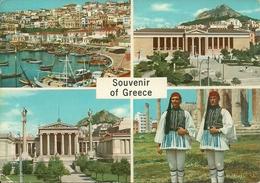 Athens (Atene, Grecia) Views, Vues, Ansicht, Vedute E Scorci Panoramici - Grecia