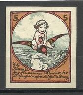 DEUTSCHLAND Alte Spendemarke Charity Vignette * - Vignetten (Erinnophilie)