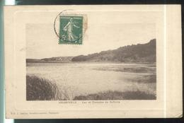 CPA  Nasbinals - Lac Et Domaine De Salhens - Circulée - Autres Communes