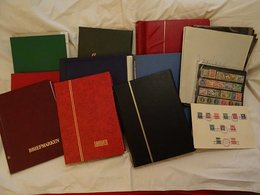 Lot With World Stamps In Albums - Timbres