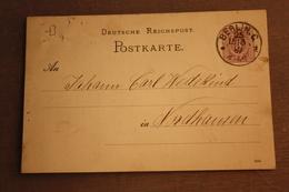 ( 2593 ) GS DR  P 12 / 02  Gelaufen  -   Erhaltung Siehe Bild - Allemagne