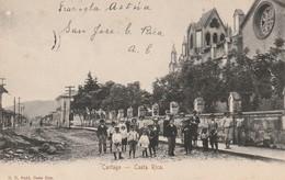 Cota Rica - Cartago - Beau Plan Belle Animation  écrite En 1906 - Costa Rica