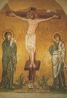 Daphni (Atene, Grecia) The Monastery Of Daphni: The Crucifixion, La Crocifissione - Grecia