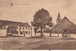 Mousty (Céroux Mousty ,Ottignies )  La Place ;( VOIR à Gauche La GENDARMERIE , Rijkswacht ) - Ottignies-Louvain-la-Neuve