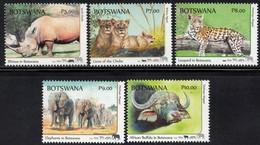 Botswana - 2018 Big Five Set (**) - Stamps