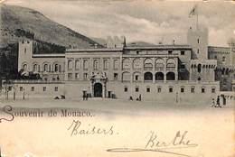 Souvenir De Monaco (précurseur 1899) - Palais Princier
