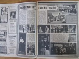 1948 Grève à La Frontière Douane Douanier Dans Les FLandres Franco Belge  + Tragédie  De Thumeries - Vieux Papiers