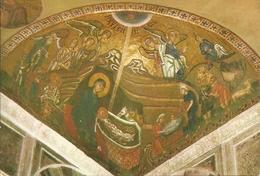 Hosios Loukas (Atene, Grecia) The Monastery: Natività Mosaico, The Nativity Mosaic - Grecia