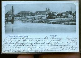 SARREBOURG TIRAGE 1898            JLM - Sarrebourg