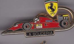 Pin's FERRARI LA SCUDERIASIGNE LB CREATIONS - Ferrari