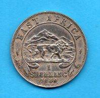 EAST AFRICA - Pièce 1 Schilling - 1949 - Colonie Britannique