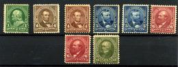 Estados Unidos Nº 123/26. Y 128. Años 1898-1899 - Unused Stamps