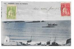 Cpa...Portugal...SAGRES....bahia Da Balieira...1921....(sous-marin Francais).... - Faro
