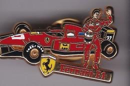 Pin's FERRARI Signe ARTHUS BERTRAND F1 - Ferrari
