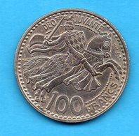 MONACO -  Pièce 100 Francs - 1950 - Rainier III - Monaco