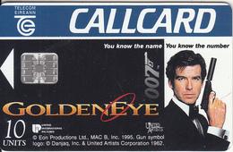 IRELAND - UCI Cinemas, James Bond 007/Golden Eye, 11/95, Used - Ireland